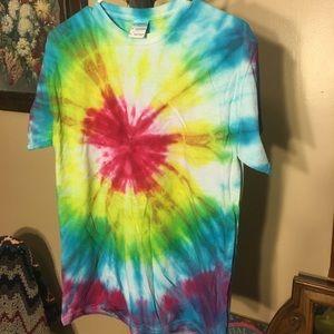 Self-dyed tie dye